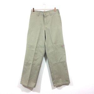 Dickies Work Trousers Pants Men's Khaki Waist 30
